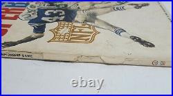 Vintage 1969 SUPER BOWL 3 lll WCG Football Program NY Jets vs. Baltimore Colts