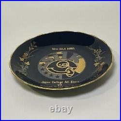 Vintage 1977 Byu Football Vs Japan All Stars Silk Bowl China Plate Rare