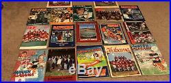 Vintage Alabama vs. Auburn Iron Bowl Programs. Will Sell Separately. (1977-1991)