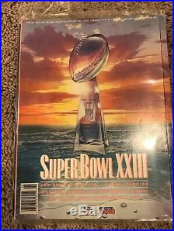 Vintage Lot of Super Bowl Programs 21-30 XXI-XXX