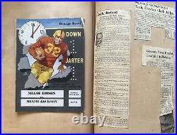 Vintage Miami Broward Palm Beach High School Football Orange Bowl Scrapbook
