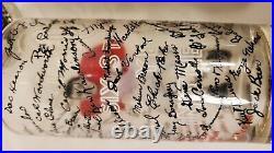 Vintage NIB 1954 Orange Bowl 8pc Tumblers Oklahoma Sooners College Football