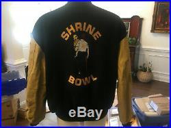 Vintage Rare Shrine Bowl Football Jacket 3xl North South Carolina