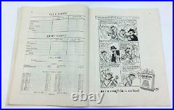 Vintage Yale Army Football Game Program, Yale Bowl New Haven Ct. Oct. 22, 1927