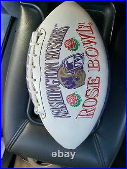 Washington Huskies Collectible 1991 Rose Bowl Football